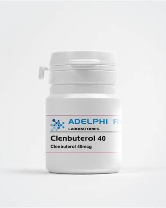 Adelphi Research Clenbuterol 40mcg