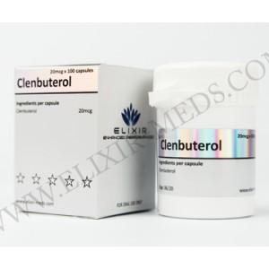 Elixir Meds Clenbuterol 20mcg 100 Caps