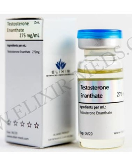 Elixir Meds Testosterone Enanthate 275mg 10ml