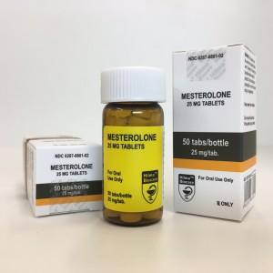 Hilma Biocare Mesterolone 25mg 50 Tabs