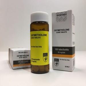 Hilma Biocare Oxymetholone 50mg 100 Tabs