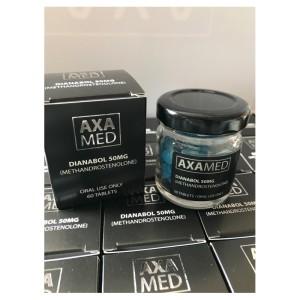 Axa Med Dianabol 50mg 60 Tabs