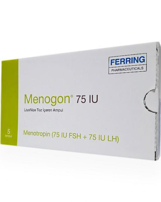 HMG Ferring Menogon 75iu LSH FSH x5
