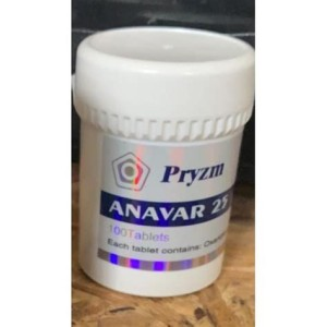 Pryzm Anavar 25mg 100 Tabs