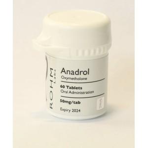 Rohm Labs Anadrol 50mg 60 Tabs