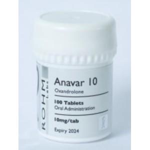 Rohm Labs Anavar 10mg 100 Tabs