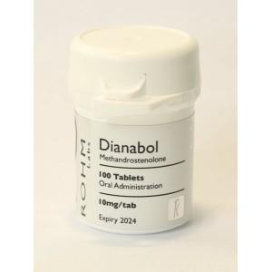 Rohm Labs Dianabol 10mg 100 Tabs