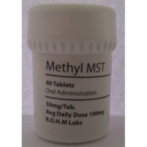 Rohm Labs Methyl MST 50mg 60 Tabs