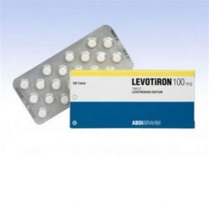 Levotiron T4 100mcg 50 Tablet