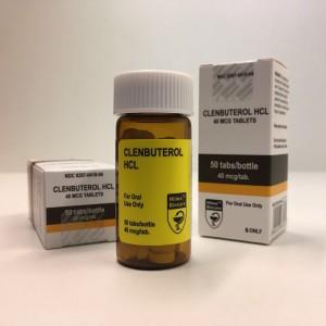 Hilma Biocare Clenbuterol HCL 40mcg 50 Tabs