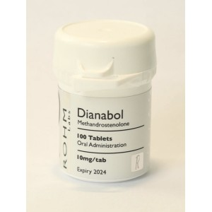 Rohm Labs Dianabol 10mg 100 Tabs